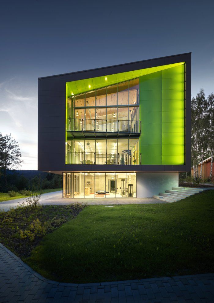 Sport Hotel in Klingenthal, Germany by m2r architecture