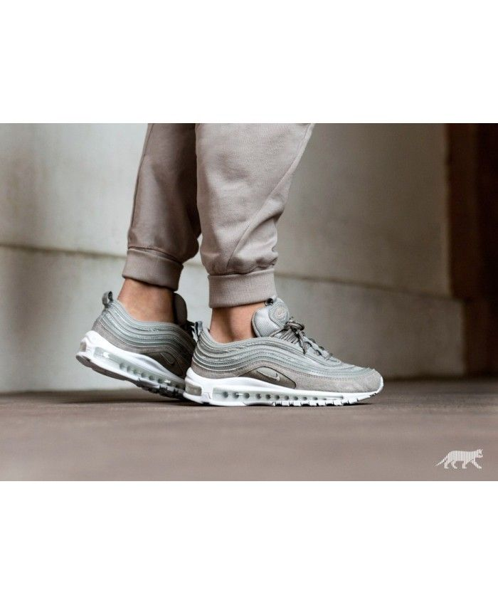 6128a927d1 Nike Air Max 97 Cobblestone Cobblestone White Trainers | Shoes ...
