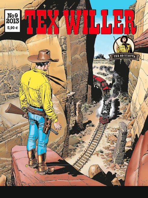 Tex Willer -lehti no 9/2013. #sarjakuva #sarjakuvalehti #sarjis #egmont