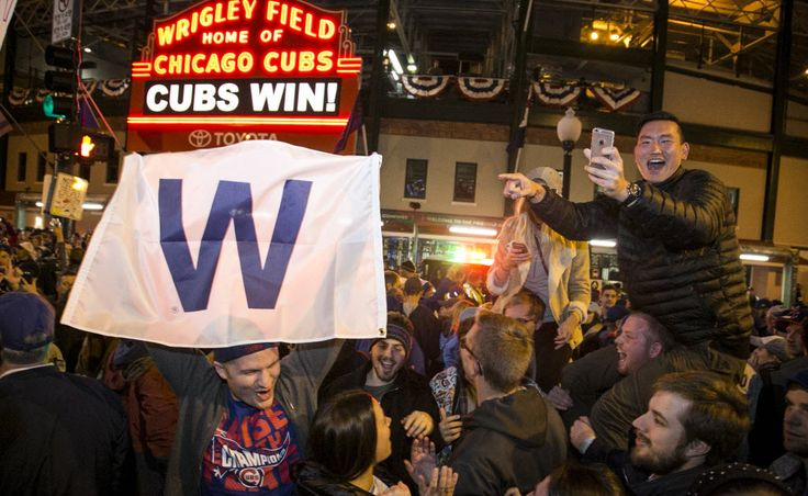 The Chicago Cubs weren't the only winner Sunday night. Fox won the Sunday night TV ratings with its World Series coverage.