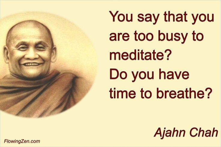 Got time for breathing?
