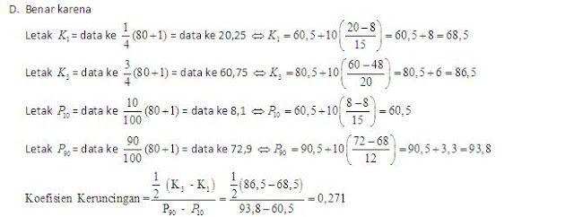 Soal Ujian Ut Pgpaud Pema4210 Statistika Pendidikan Disertai Kunci Jawaban Soal Universitas Terbuka Pendidikan Statistika Kunci