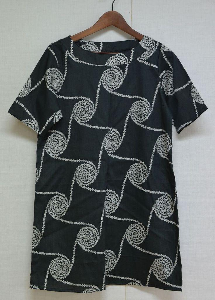 Tunic tutorial and free pattern : Kokka