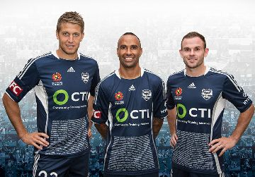 Melbourne Victory FC 2015 adidas Inaugural Match 10th Anniversary Kit