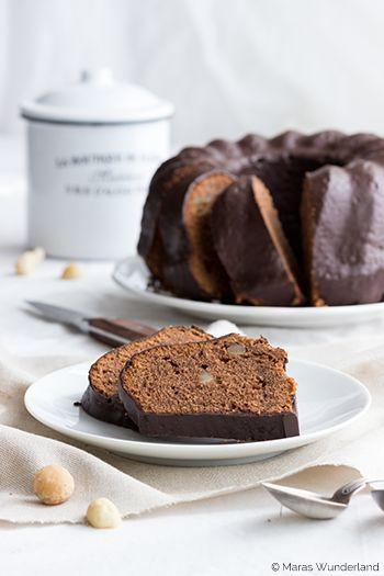 Schokoladen-Macadamia-Kuchen
