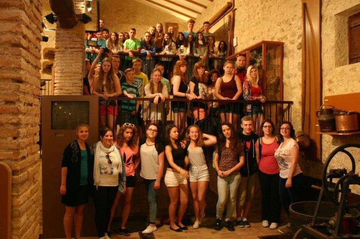 #wine #museum visit #erasmus+ #youthcamp #Ontinyent #slowtravel