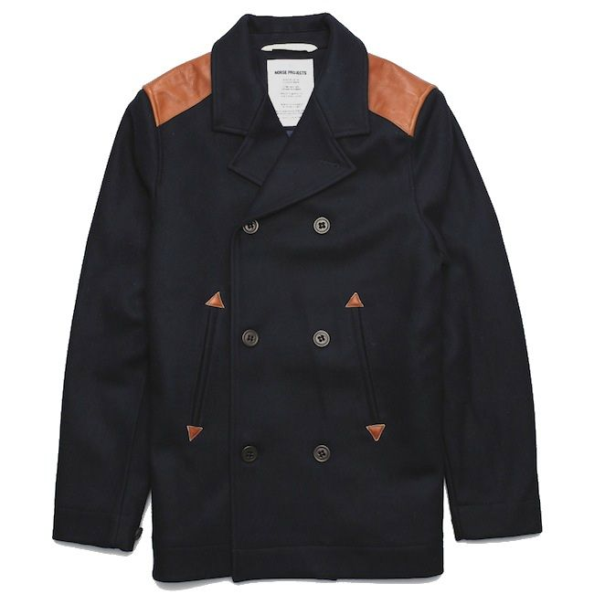 Norse Projects Birk Sailor Jacket Pea Coat.