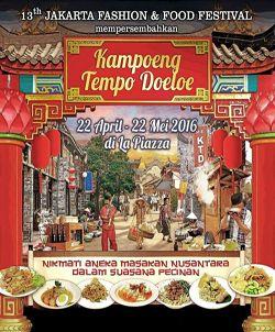 "Event yang akan berlangsung sejak 22 April hingga 22 Mei 2016 ini mengangkat tema ""Aneka Mie Nusantara"" dengan nuansa dekorasi Pecinan masa lampau. Acara ini akan diikuti oleh 88 peserta UKM kuliner yang menyajikan lebih dari 200 menu."