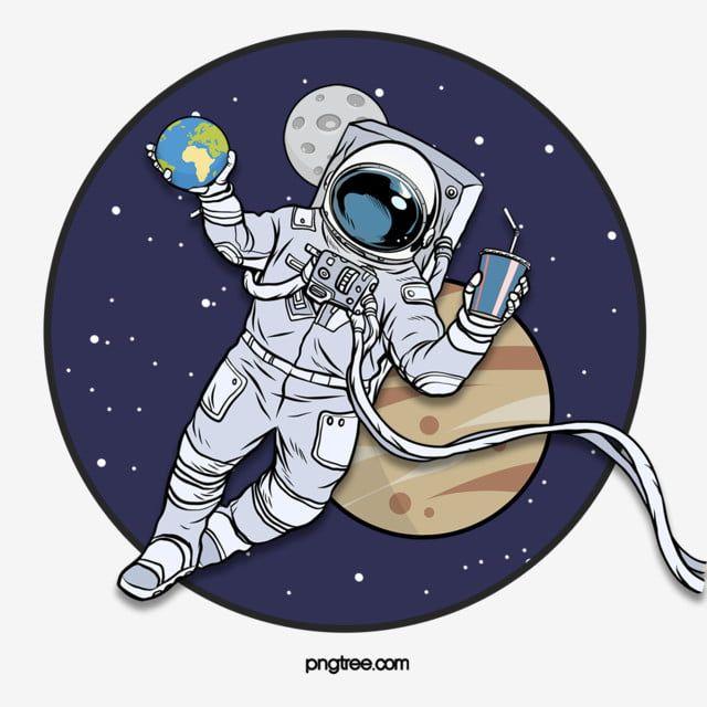 Astronavt Kosmicheskaya Raketa Illyustraciya Planeta Element Astronavt Zvezdnoe Nebo Zvezda Png I Psd Fajl Png Dlya Besplatnoj Zagruzki Astronaut Illustration Sky Textures
