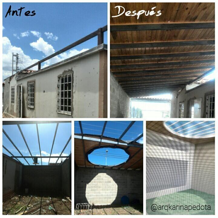 Realizamos distintos diseños de techo machihembrado... ¡Contáctanos! #arquitectura #diseno #hogares #techo #venezuela