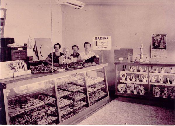 The Slaton Bakery, Texas circa late 1940s