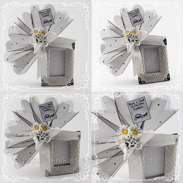 Nikah Şekeri Çerçeve Gümüş Fileli (ID#824409): satış, İstanbul'daki fiyat. Arı Nikah Şekeri Ve Süs adlı şirketin sunduğu Karma Süslenmiş Hazır Nikah Şekerleri Modelleri, Ucuz Kampanyalı İndirimli