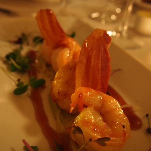Pan-Fried Scallops and Langoustines @ Fallon & Byrne