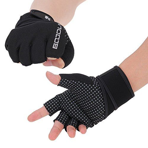 foxpic  BOODUN Womens Weight Lifting Gloves with Long Wrist Wrap Support- Anti-skid Breathable Soft Lycra H No description (Barcode EAN = 6087657281420). http://www.comparestoreprices.co.uk/december-2016-5/foxpic-boodun-womens-weight-lifting-gloves-with-long-wrist-wrap-support-anti-skid-breathable-soft-lycra-h.asp