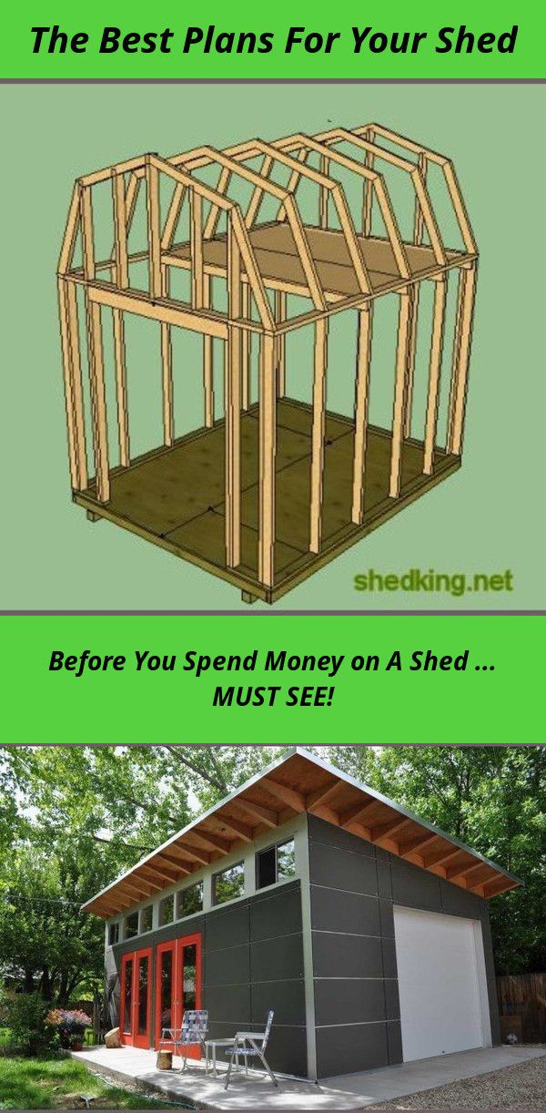 Simple Shed House Plans Shed Plans That Are Designed To Be Easy To Build From And As Cost Effective As Possible Diy Shed Plans Storage Shed Plans Shed Plans