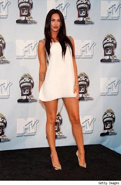 celebrities sexy legs high heels | See the best of the actress Megan Fox!