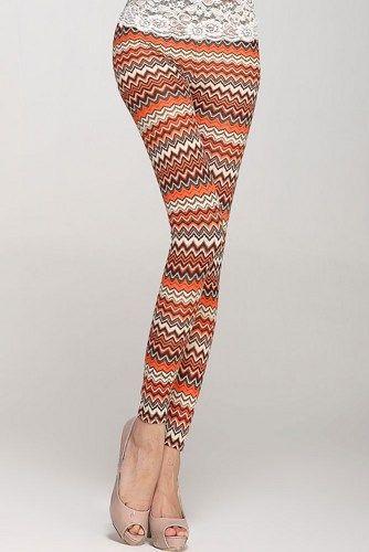 Wave High Waist Legging | GlobalMarket - Clothing on ArtFire