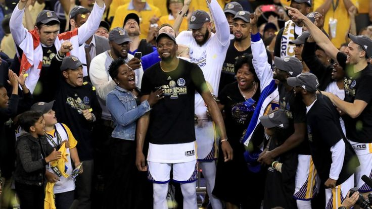 "After Golden State Warriors star Kevin Durant helped his team clinch the NBA championship, his mother, Wanda Durant, celebrated alongside the team in what truly was a lifelong dream come true.   ""I felt fulfilled as a mom,"" Durant said today on ""Good Morning America""... - #Durant, #Felt, #Fulfil, #Kevins, #NBA, #Son, #TopStories, #Wanda, #Win"