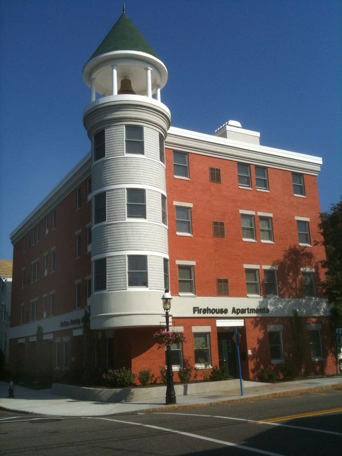 Former New Jersey firehouse (built in 1903) converted into senior citizen apartments. | Shared by LION