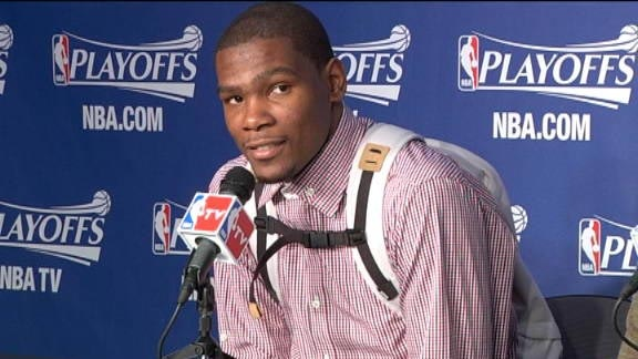 Kevin Durant backpack swag
