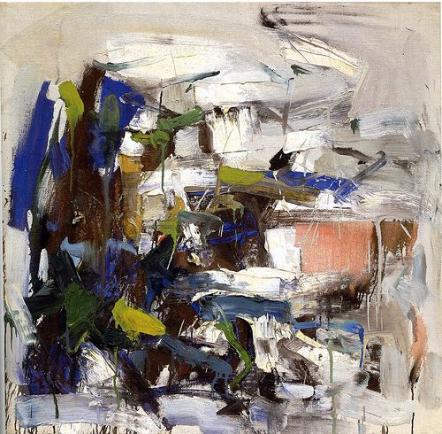 Joan Mitchell - Untitled, 1958
