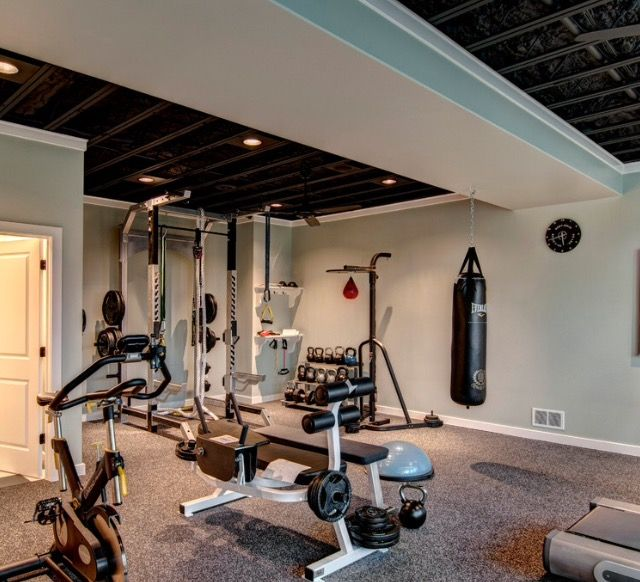 14 best Home gym inspiration images on Pinterest Ceilings At