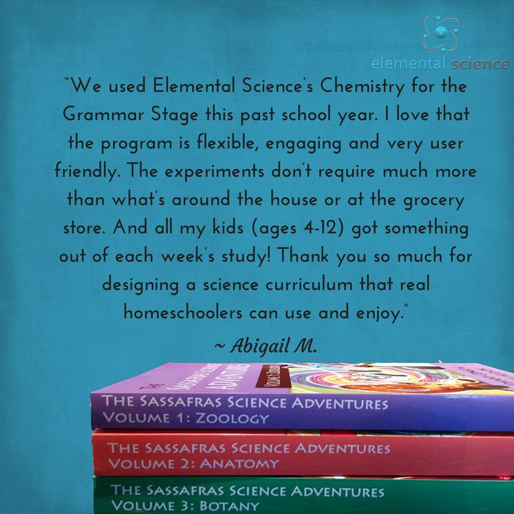 """""""Thank you so much for designing a science curriculum that real homeschoolers can use and enjoy."""" ~ Abigail M."""