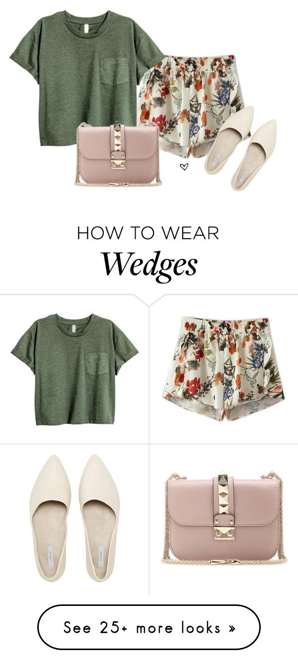 """Bez naslova #3864"" by lillyrosalie on Polyvore featuring Chicnova Fashion and Valentino"
