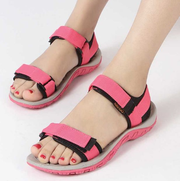 2017 hot new Korean outdoor summer large code shoes beach shoes a couple of men and women sandals, - CattleyaStore CattleyaStore