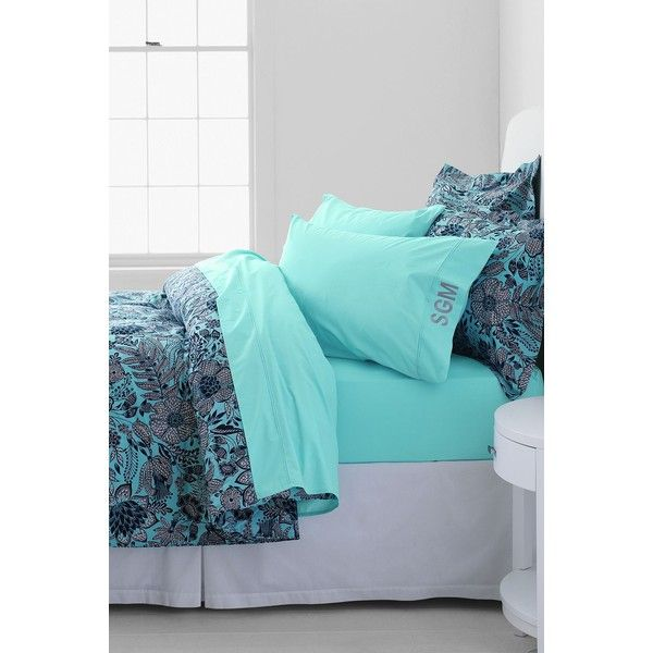 landsu0027 end percale solid pintuck pillowcases 12 liked on polyvore featuring home