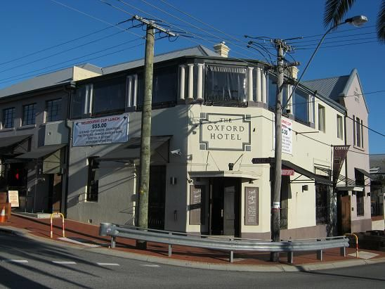 The Oxford Hotel in Leederville.