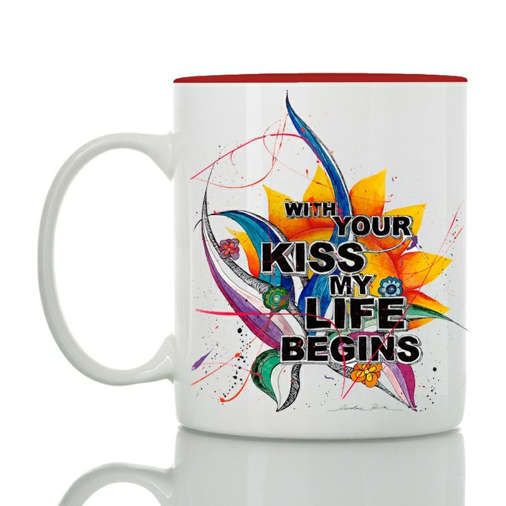 Show him your love!  with your kiss my life begins  #storymood #valentine's #mug