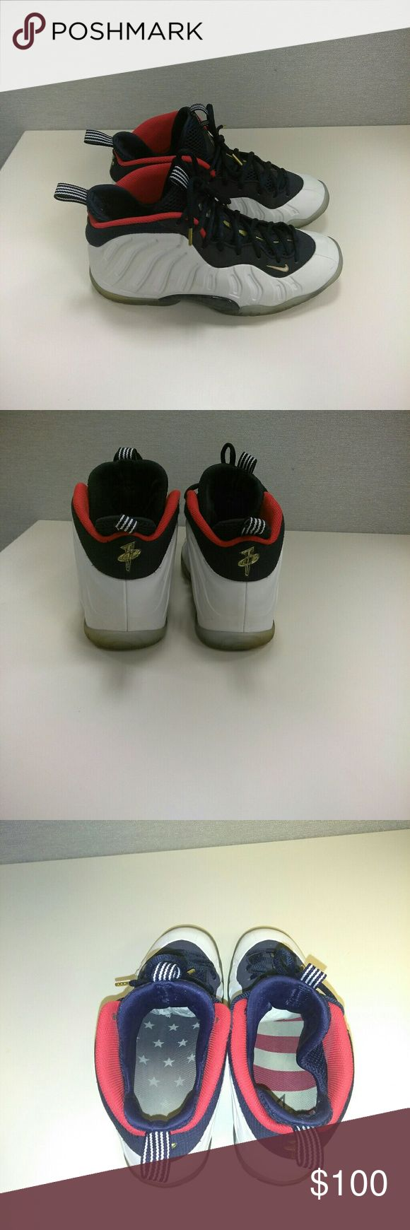Foams 2016 Olympic Foams slight scuffing pictured in #4&5 Nike Shoes Athletic Shoes