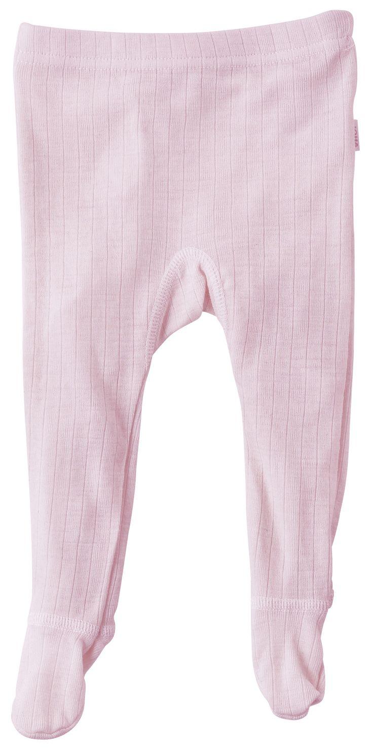 Colanti cu șosete din lână merinos Pink - Joha from HipHip.ro