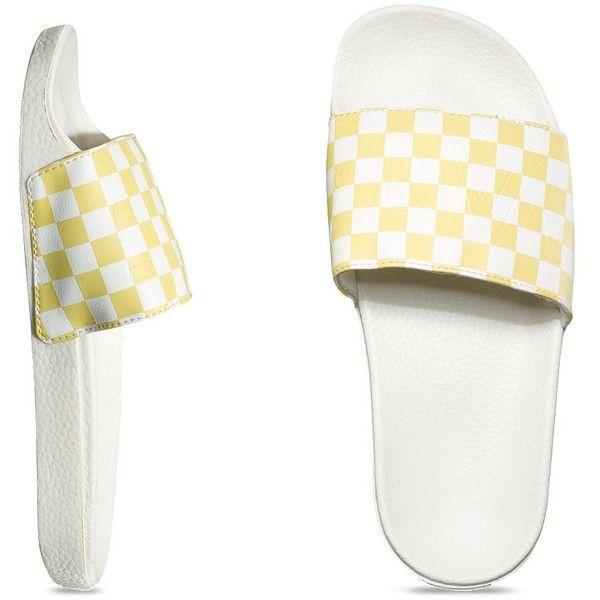 Vans slides, Shoes women heels, Leather