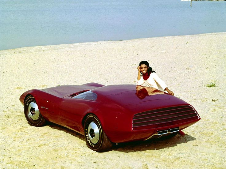 It's the future. 1968 Dodge Charger III Concept Car