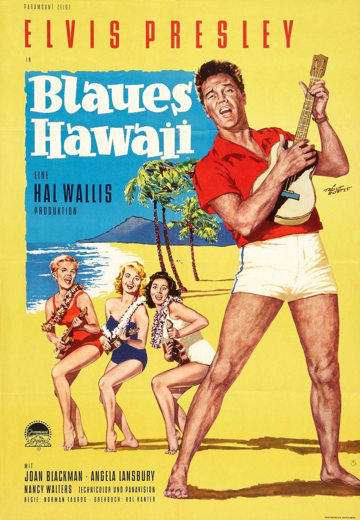 Blaues Hawaii (Blue Hawaii) #film #poster (1960s)
