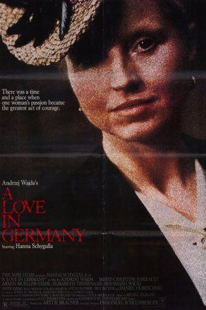 """HOY!!! Cine Alemán en Noviembre """"Recordar para no Olvidar"""". Sala de Exposiciones UCSC, Caupolicán 459. Entrada liberada. 20.00 hrs. Jueves 28 de noviembre: Films: """"Un Amor en Alemania"""", Director: Andrzej Wajda - 1983."""