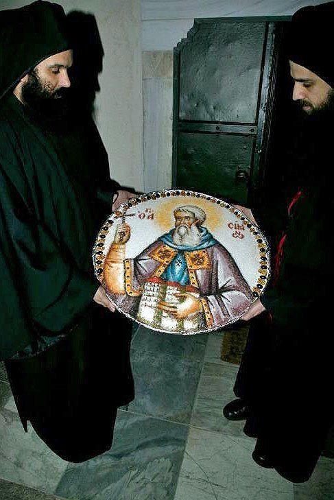 How Monks make Koliva on the Holy Mountain