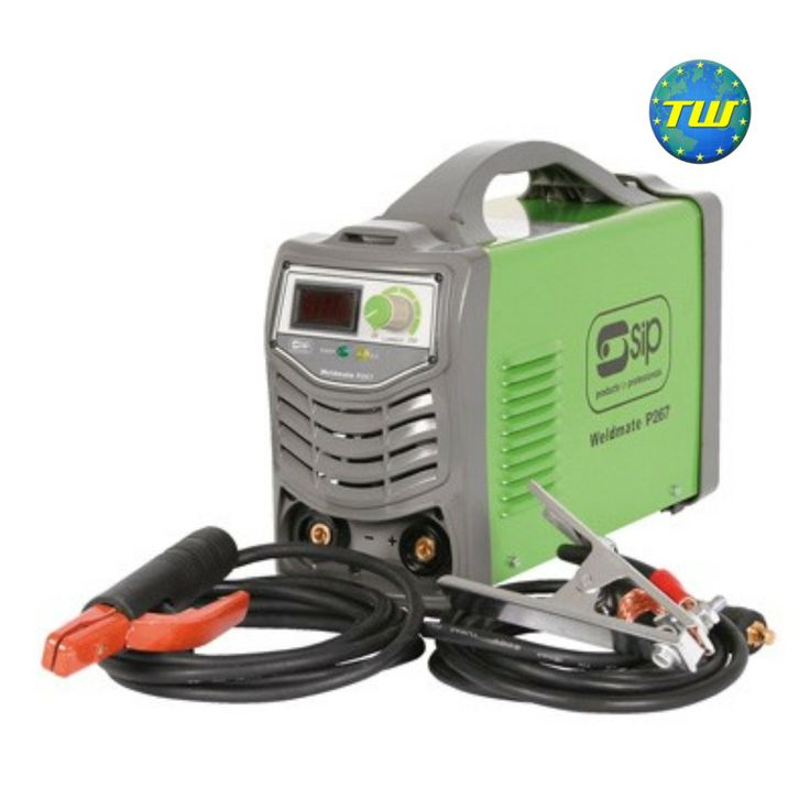 SIP 05252 Weldmate P267 260 Amp Arc Inverter Welder https://www.twwholesale.co.uk/product.php/section/6849/sn/SIP05252
