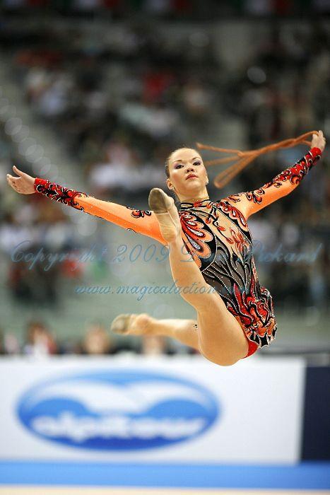 Dinara GIMATOVA (AZE) Rope