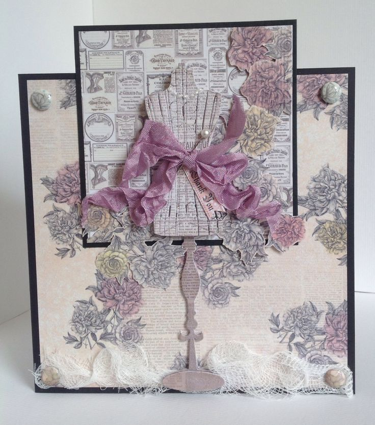 Card designed by Emma Williams using Paper Couture kit.