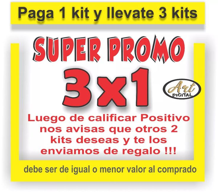 kit imprimible promo 3x1 candy bar perros simones