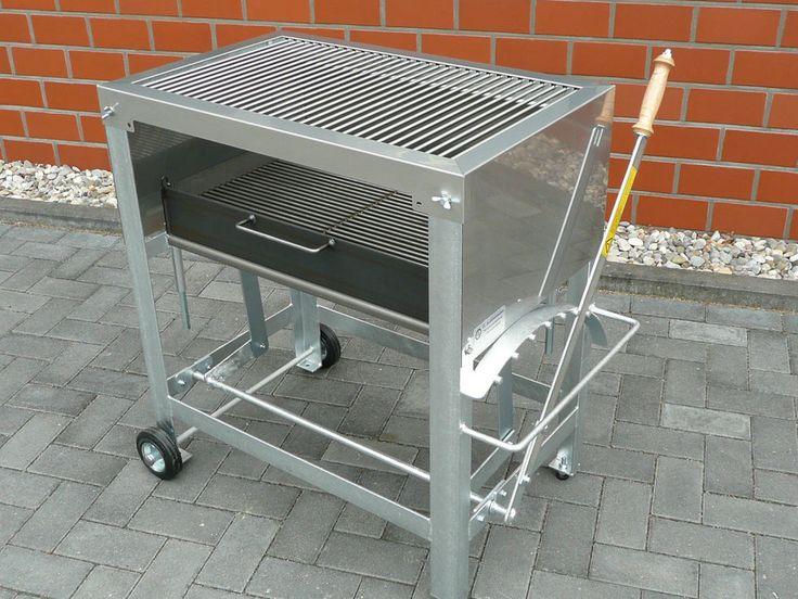 Edelstahl Grill Holzkohlegrill Profi in Garten & Terrasse, Grills, Öfen & Heizstrahler, Grills | eBay!