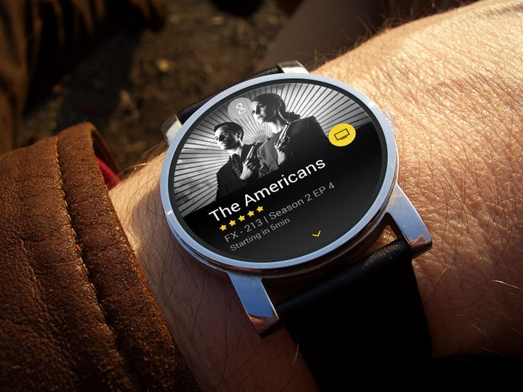 Android Wear for TV Show