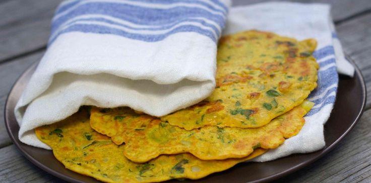 Kikert crepes til meksikansk mat ✅