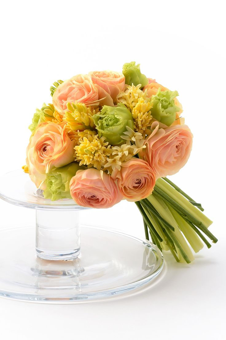 #wedding #bouquet #flower #Ranunculus #pink #yellow #green #NOVARESE #ウエディング #ブーケ #フラワー #ラナンキュラス #ピンク #イエロー #グリーン #ノバレーゼ