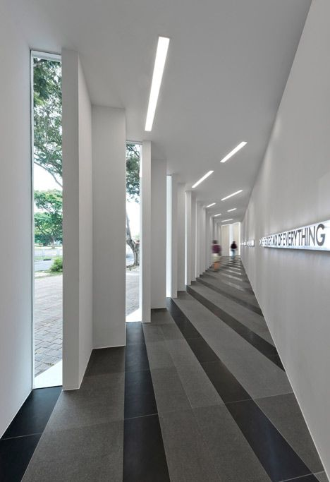 Edge Gallery, by Ministry of Design.: Architecture Buildings, Design Pattern, Floors Pattern, Uol Edging, Architecture Lights, The Edging, Ministry, Modern Architecture, Edging Gallery