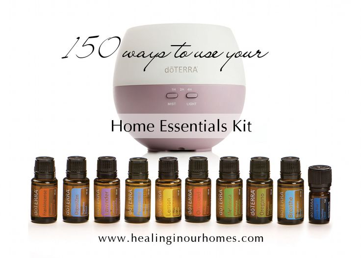 150 uses for Doterra's Home Essentials Kit - Healing in Our Homes