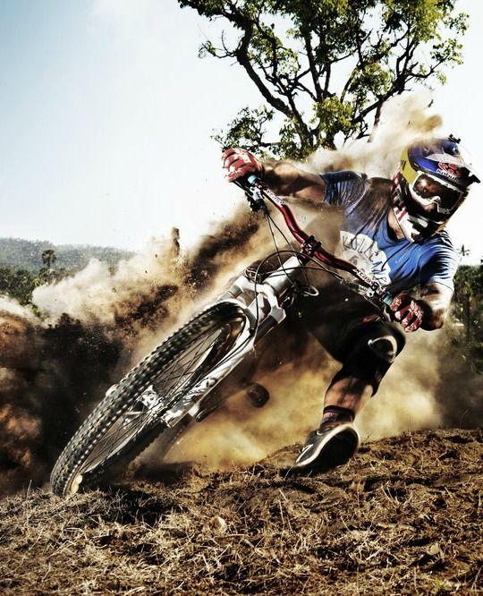 Tomáš Slavík takes a dusty turn in Bali.